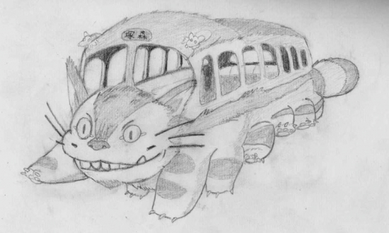 My Neighbor Totoro par Shige